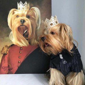 Leinwand Hund Foto